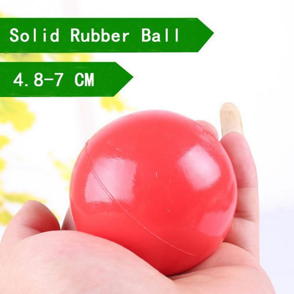 Non-Toxic Solid Natural Rubber Bouncing Ball - Max and Maci's Store