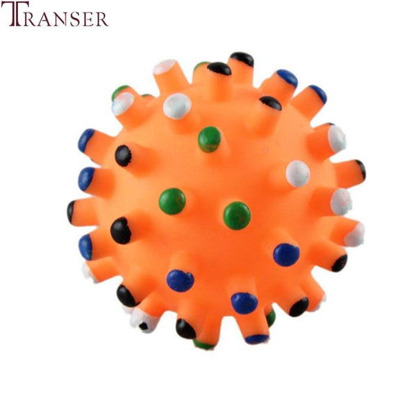 Transer 6.5Cm Durable Squeaky Pet Dog Ball - Max and Maci's Store