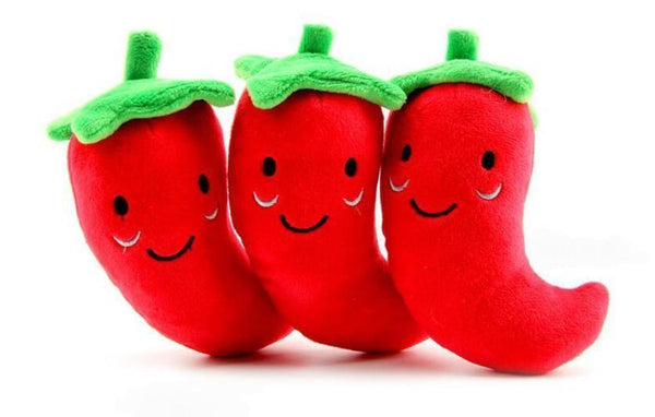 Sound Cute Vegetable Red Chili Toys - Max and Maci's Store
