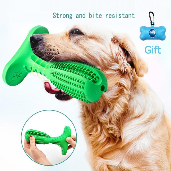 Rubber Chew Toys For Dog Tooth Cleaner - Max and Maci's Store