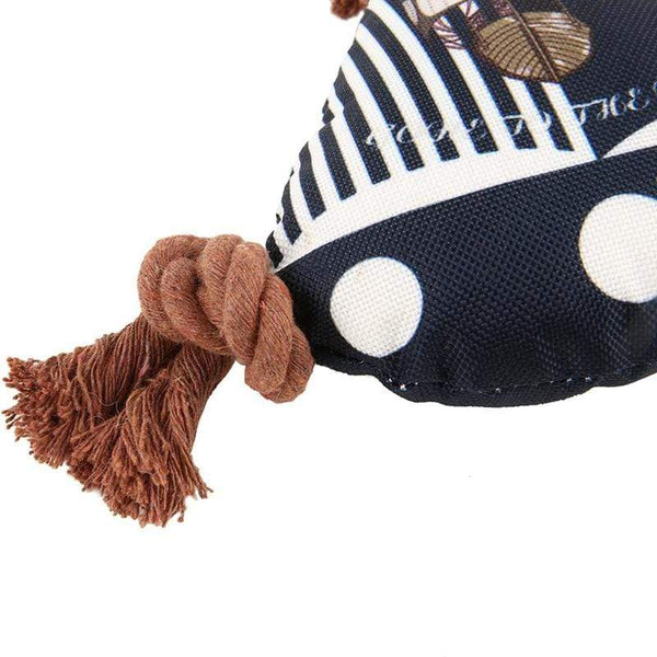 Squeaky Blue Sailboat-Shaped Dog Toys - Max and Maci's Store