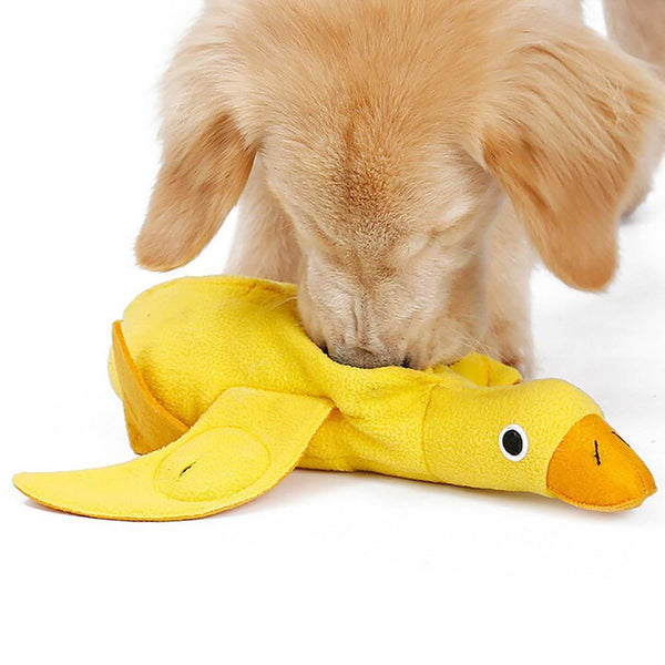 Iq Treat Food Dispensing Duck Pet Toy - Max and Maci's Store