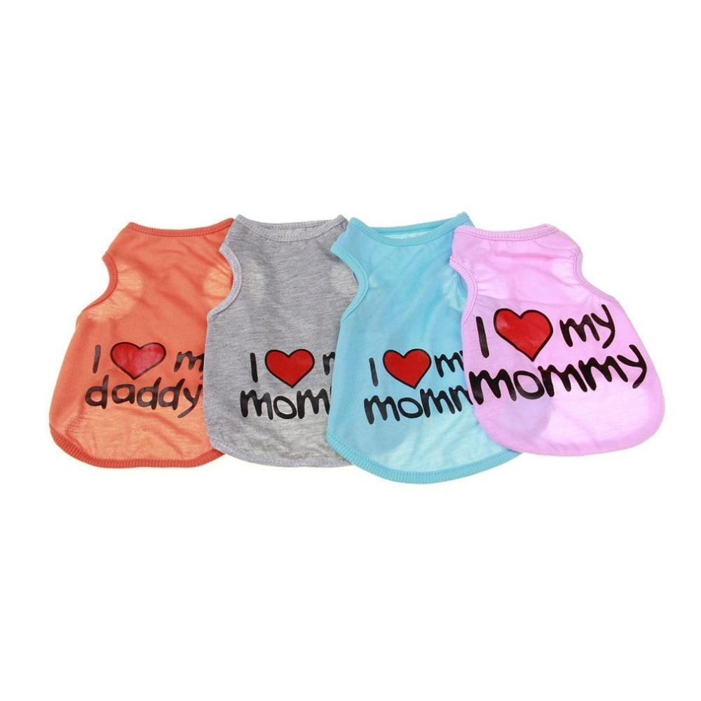 Max and Maci's Store Dog Vests 4 Colors Lovely Dog Clothes
