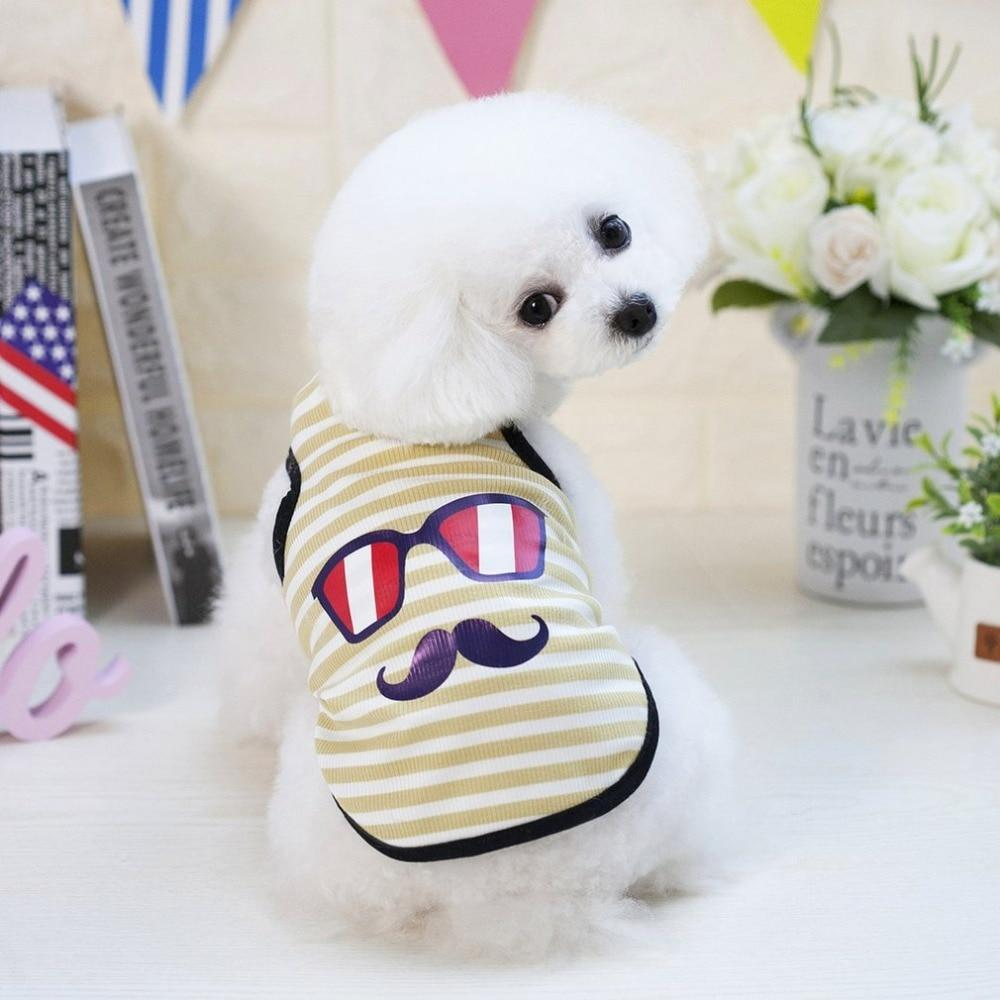 Max and Maci's Store Dog Vests Dog Vest Beard Pattern Small Puppy Cat Clothing