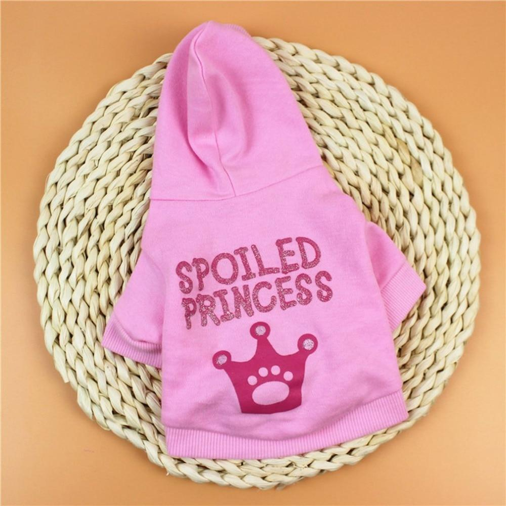 Max and Maci's Store Dog Vests Fashion Dog Clothes Cute Little Cat Princess T-shirt