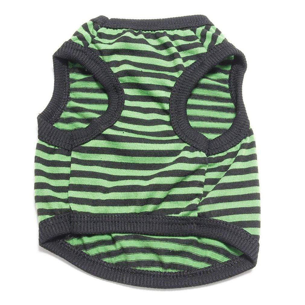 Max and Maci's Store Dog Vests Fashionable Cute Summer Dog Colorful Strip Vest