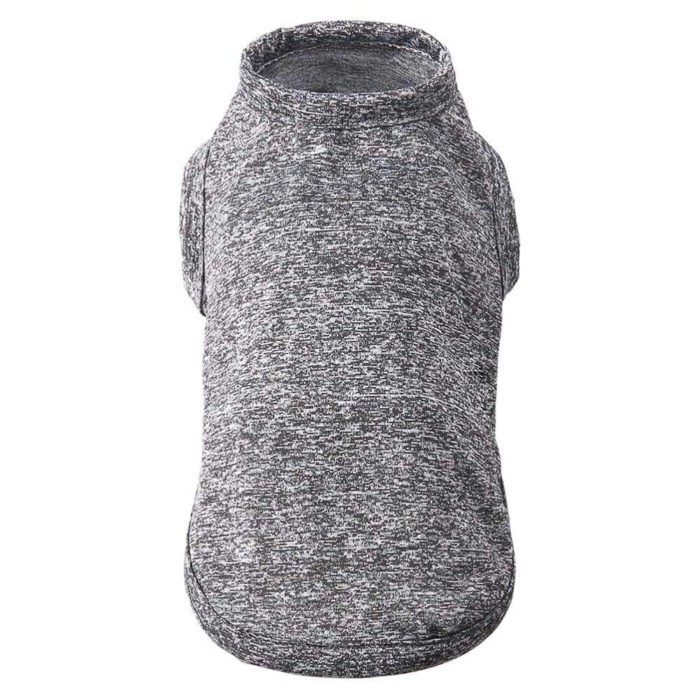 Max and Maci's Store Dog Vests Grey Cation Cooling Soft Cotton Dog T Shirt