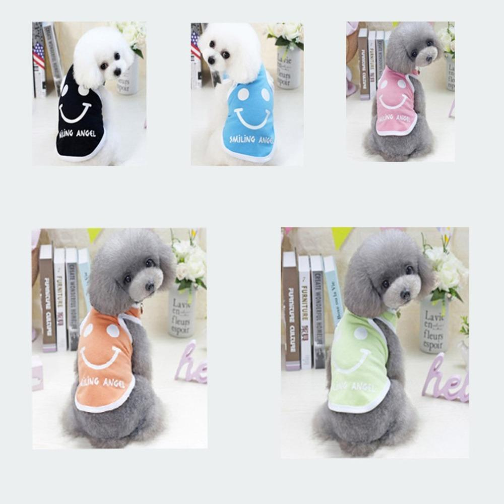 Max and Maci's Store Dog Vests Smile Printing Dogs Vest Summer Cooling Clothes