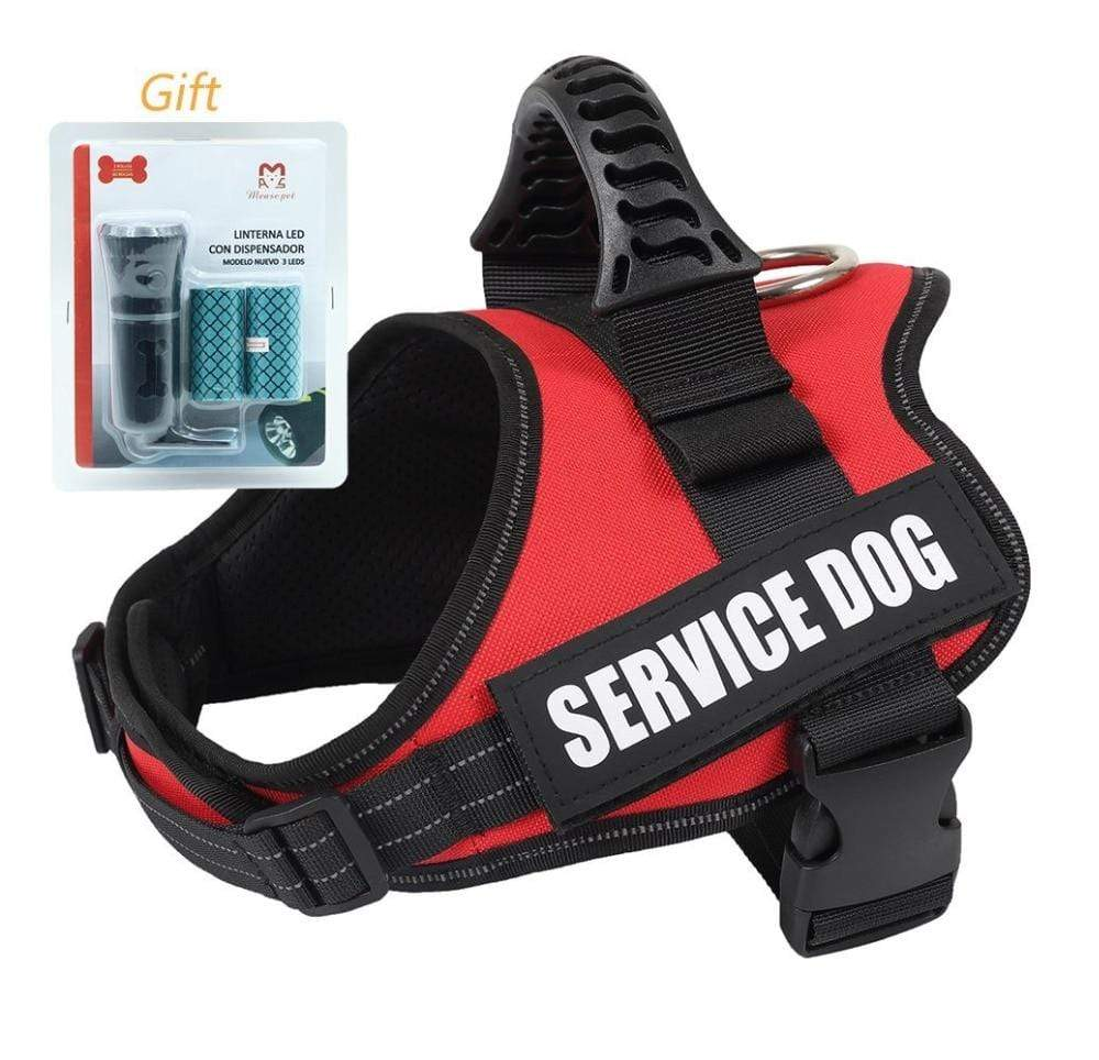 Max and Maci's Store Dog Vests Vest Service Dog Harness with Reflective