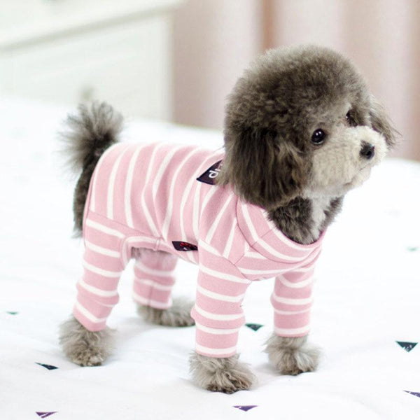 Dogs  Striped Jumpsuit - Max and Maci's Store