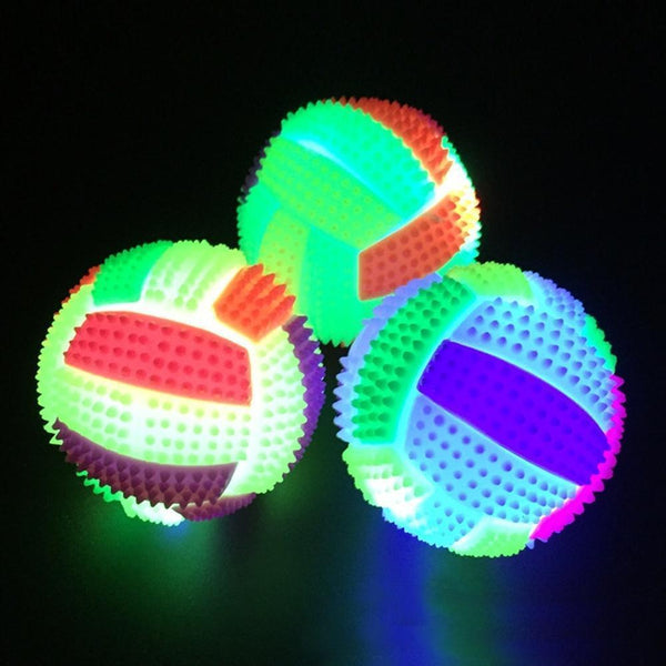 Flashing Bouncy Led Light Ball - Max and Maci's Store