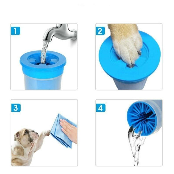 Foot Clean Cup For Dogs - Max and Maci's Store