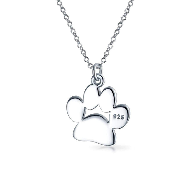 Paw Print Pendant Necklace - Max and Maci's Store
