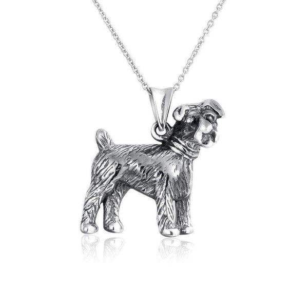 Terrier Puppy Pet Bone Dog Necklace - Max and Maci's Store