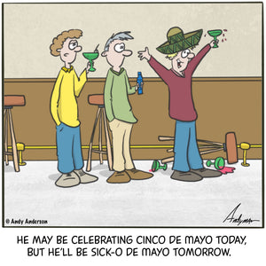 Cinco De Mayo cartoon by Andy Anderson