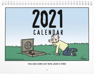 2021 Cartoon Calendar