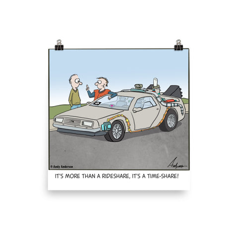 More than a rideshare it's a time-share cartoon by Andy Anderson