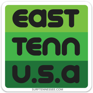 The East Tenn USA Sticker