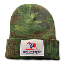 Load image into Gallery viewer, The Standard Issue Camo Beanie