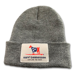 The Standard Issue Youth or Ladies Grey Beanie