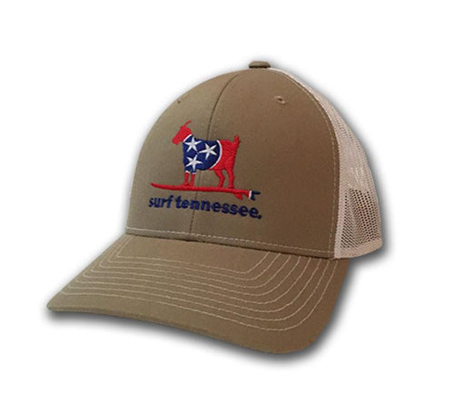 The Knox Trucker Mesh Hat - surf tennessee tennessee shirts