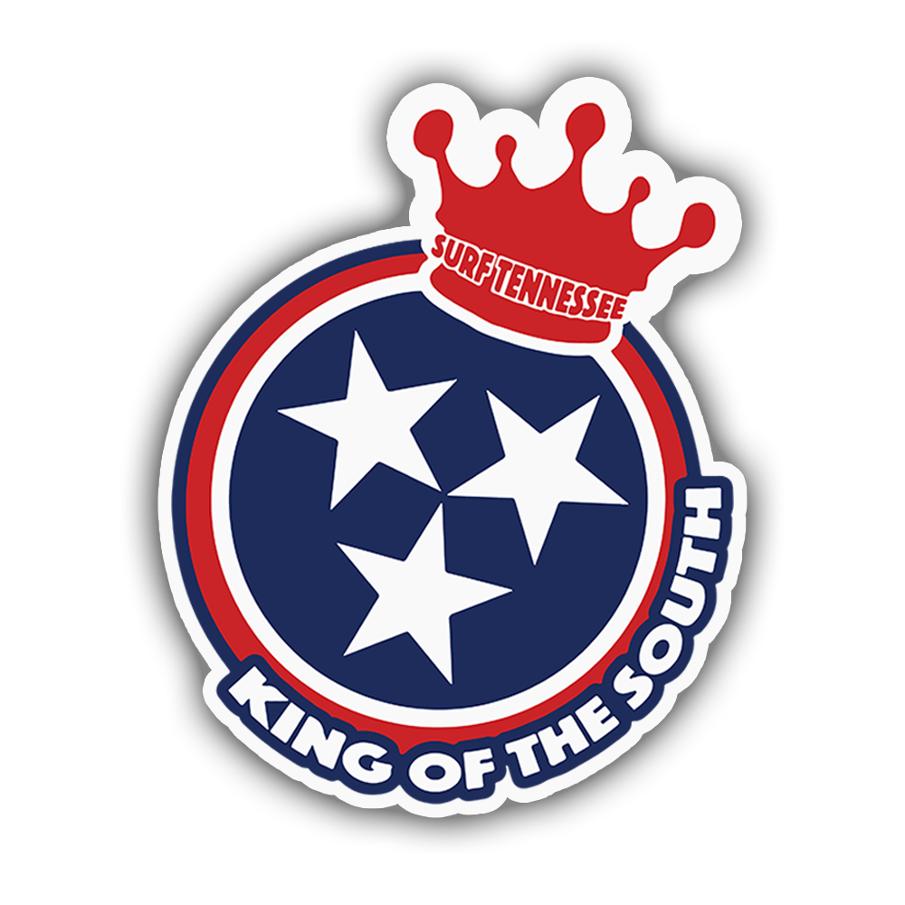 The Shelby 'King of the South' Sticker