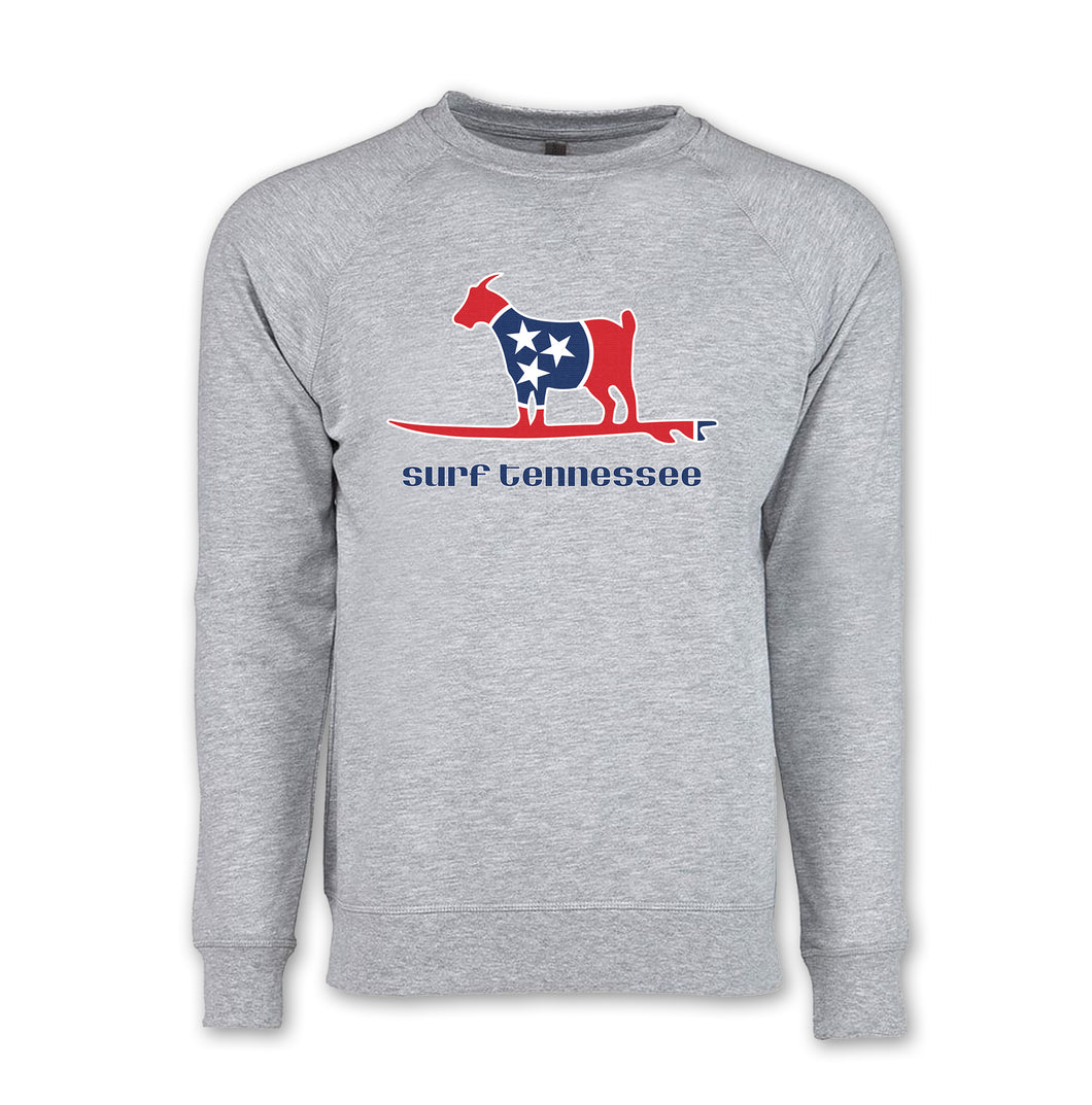 The Goat on a Stick Lightweight Sweatshirt