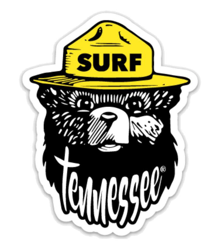 The Monroe Sticker - surf tennessee tennessee shirts