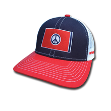 Load image into Gallery viewer, The Trippy Flag Hat - surf tennessee tennessee shirts