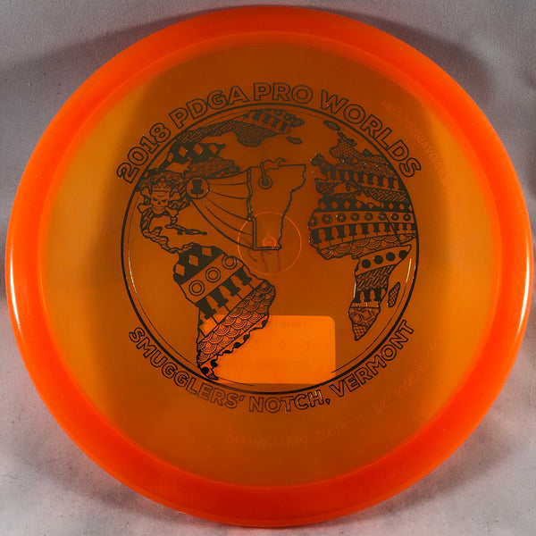 Gator (Champion)(Flat Topped)(2018 Pro Worlds Stamp)