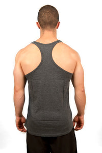 BarKing Logo - Stringer Vest - Grey