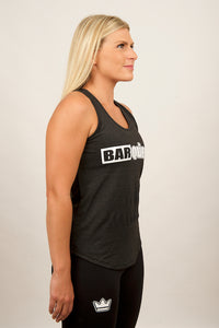 barqueen barking crossfit fitness barkingbarqueen bodybuilding sports gymwear workout performance crown tank marl womens ladies box fit clothing fitcross gymtop workoutgear running premium xfit exercise treadmill abs weight cardio bar-kingclothing strength strong aerobic fitnessstudio pt muscluation programing diet plan sport training compete
