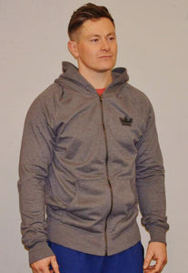 Athletic Hoodie, Melange Heather