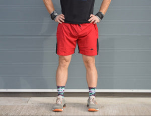 Rx Shorts - Red / Black