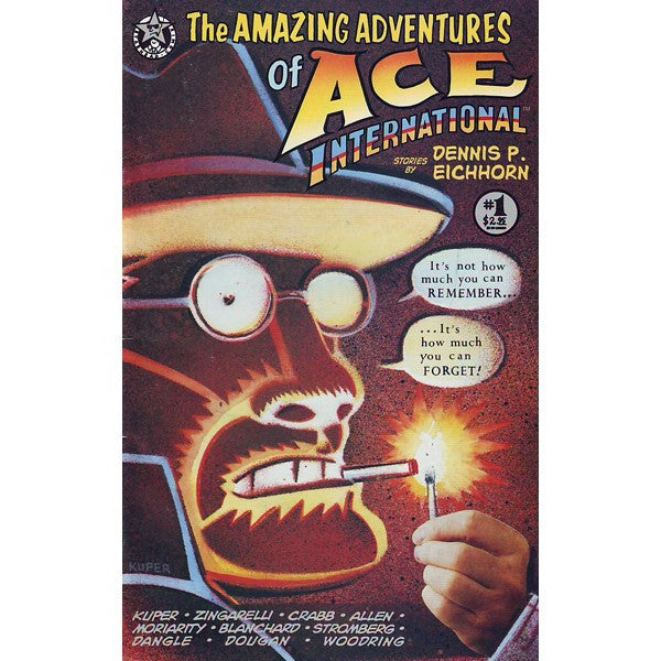 Amazing Adventures Of Ace International #1