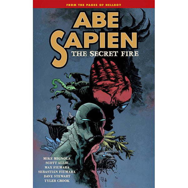 Abe Sapien Volume 7: Secret Fire