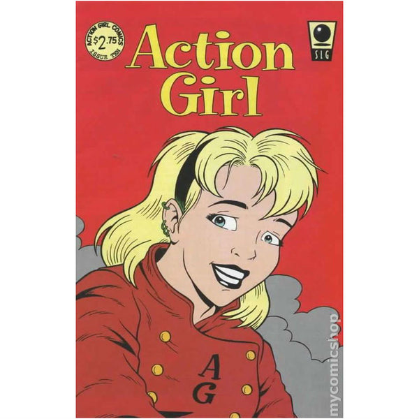 Action Girl Comics #10