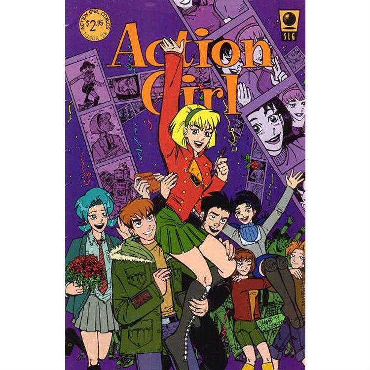 Action Girl Comics #18