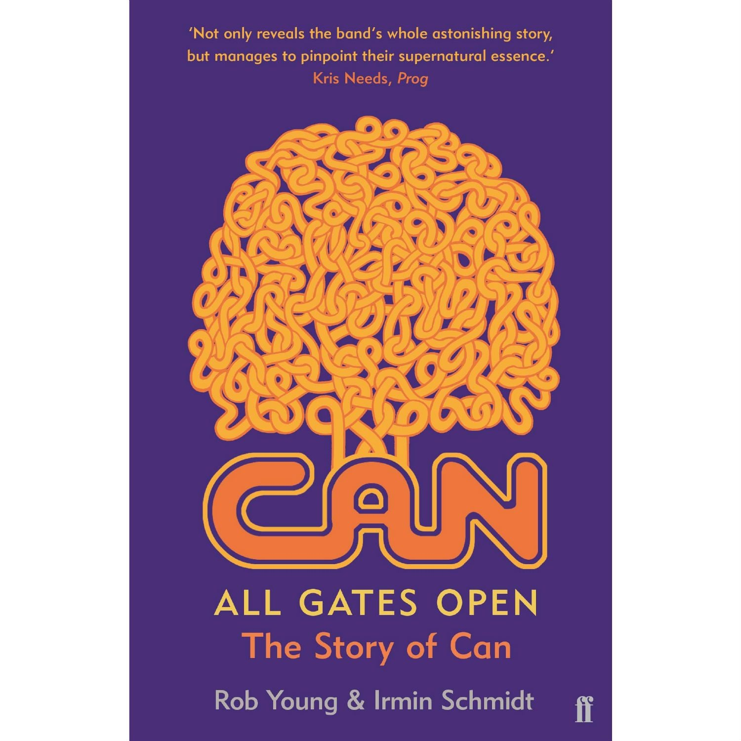 All Gates Open: The Story of CAN (paperback)