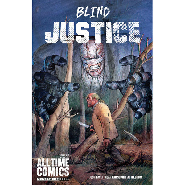 All Time Comics: Blind Justice #2