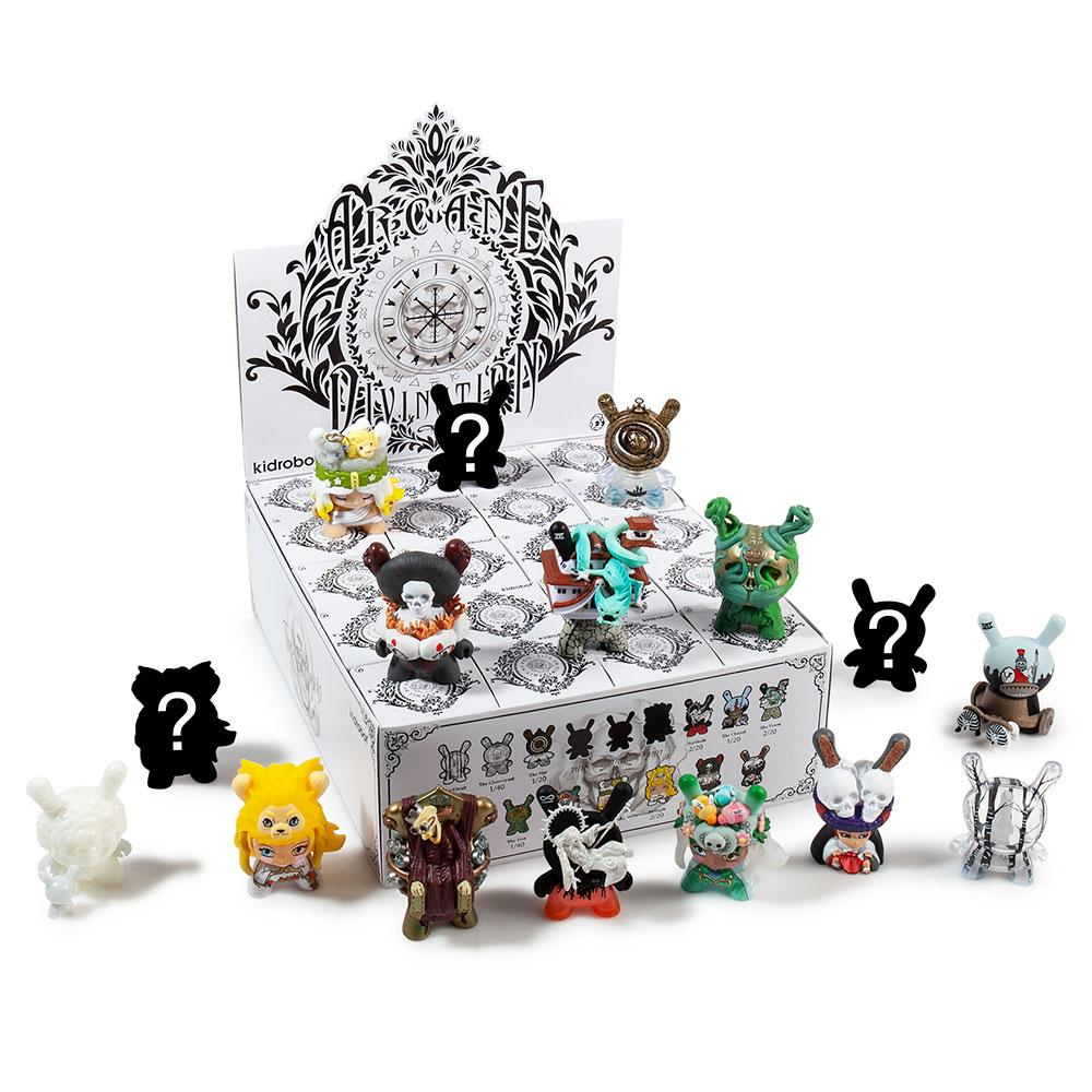 The Lost Cards Dunny Kidrobot Arcane Divination The Ghost by JRYU