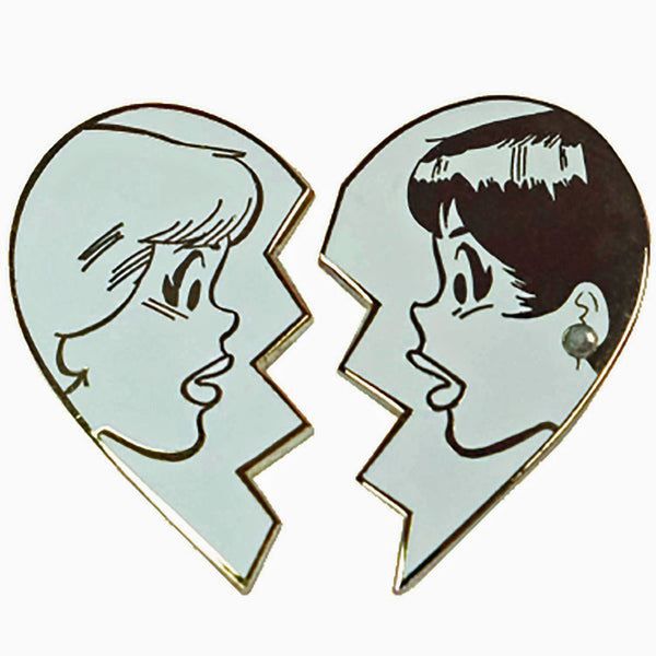 Betty And Veronica Best Friends Pin Set