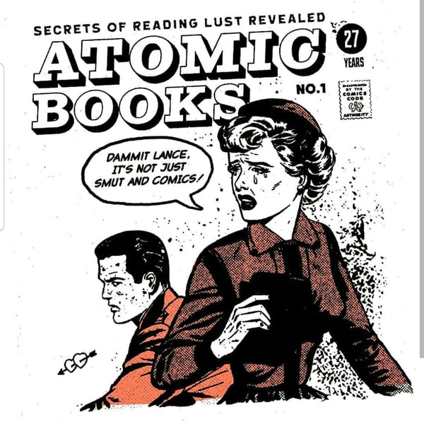 Atomic Books 27th Anniversary Tote