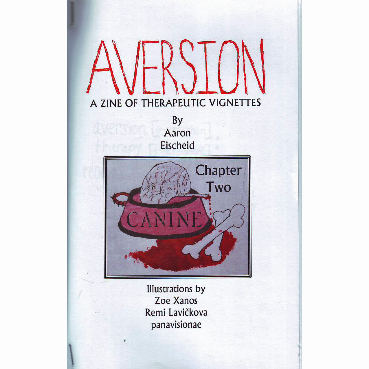 Aversion: A Zine Of Therapeutic Vignettes #2