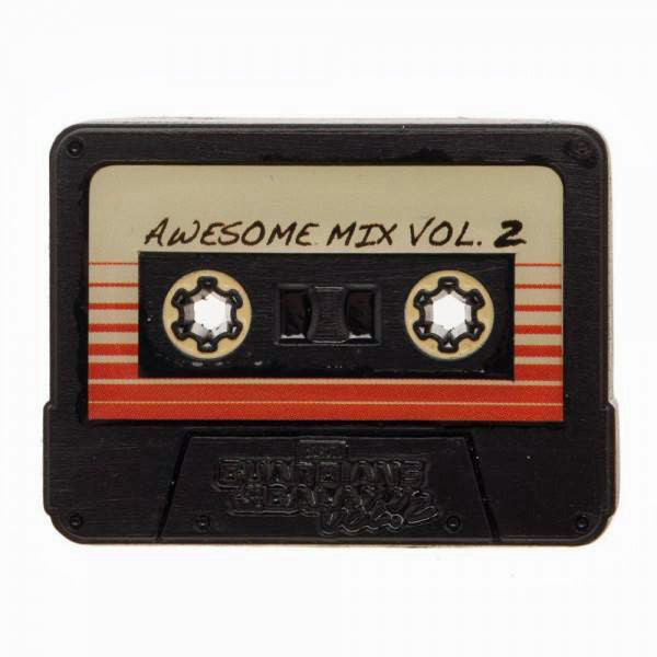 Awesome Mix Tape Cassette Pin