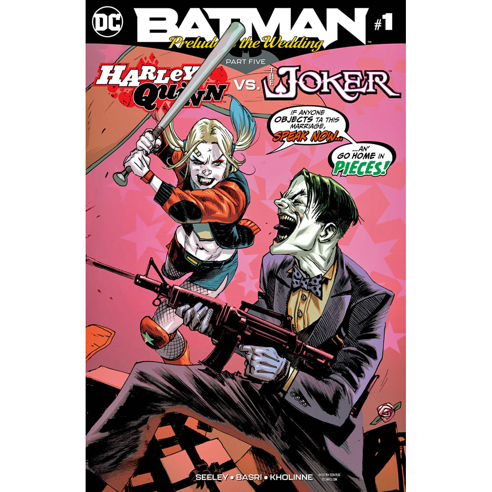 Batman: Prelude To The Wedding: Harley Quinn Vs. The Joker #1