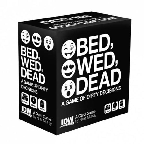 Bed Wed Dead: A Game Of Dirty Decisions Card Game