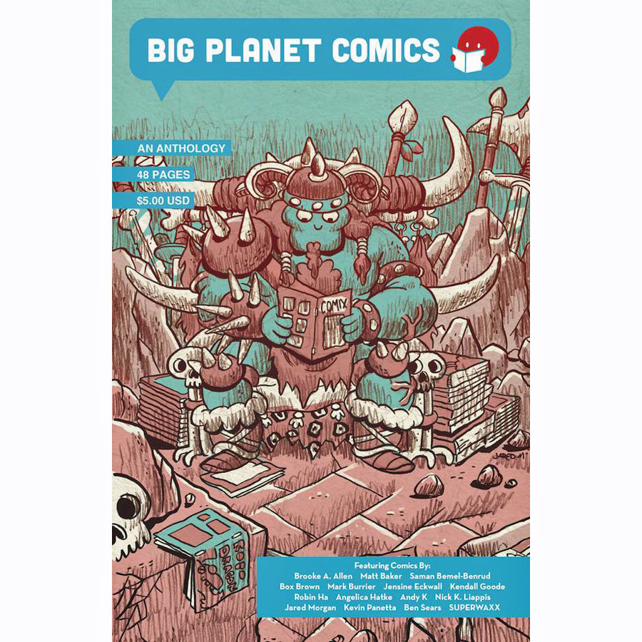 Big Planet Comics Blue