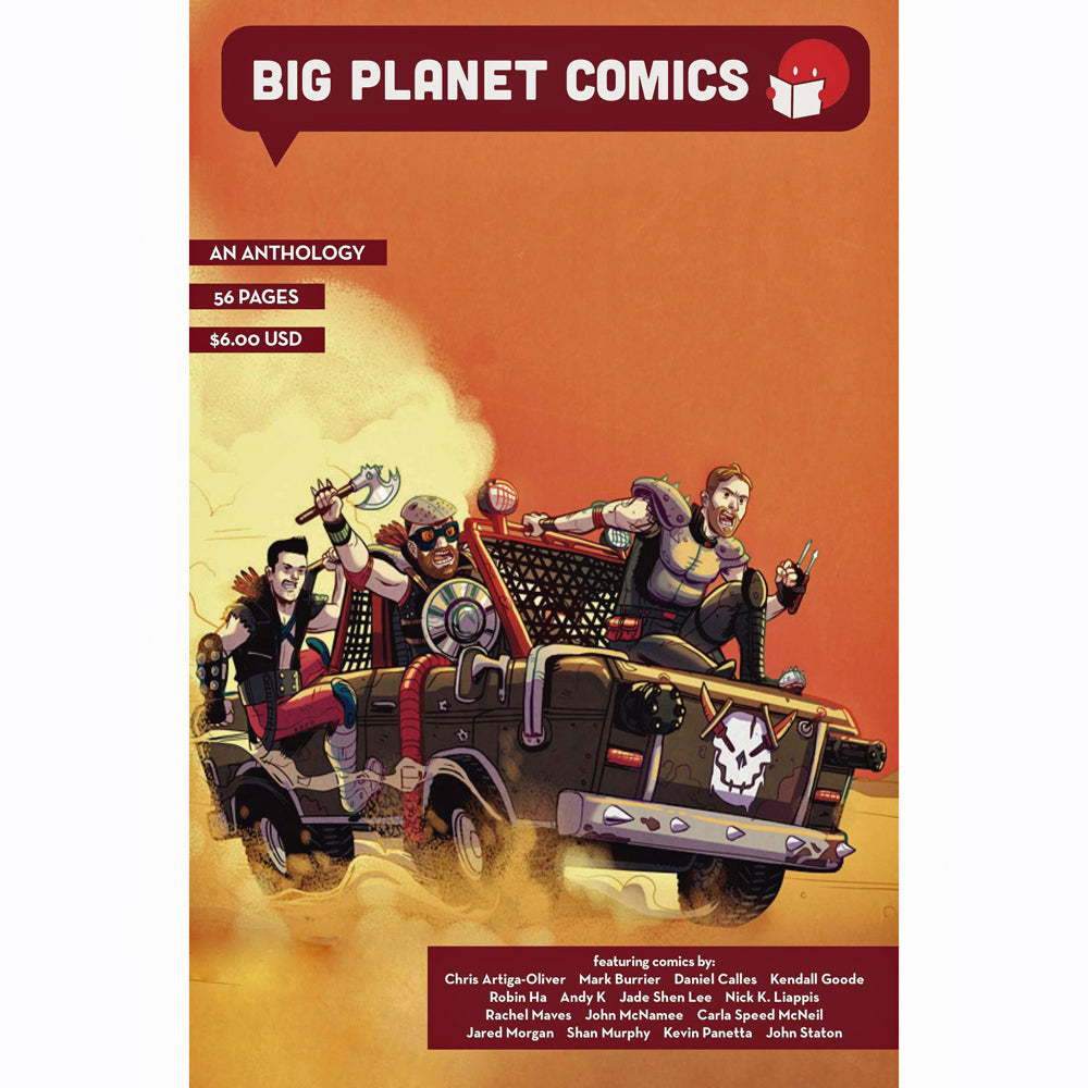 Big Planet Comics Red