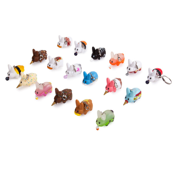 Bite-Sized Labbit Keychain